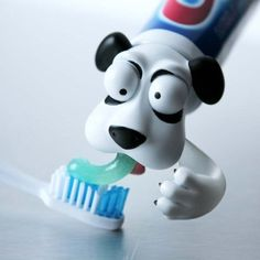 great toothpaste dispenser for dog lovers and kids