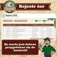Zobacz jak prosto można prowadzić obowiązkowy rejestr stosowania środków ochrony roślin w naszym systemie www.rolnikon.pl.