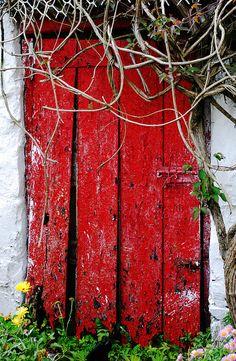 Old cottage door in Ireland | Flickr - Photo Sharing!
