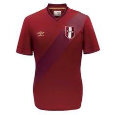 Peru Football, Football Kits, Chile 2015, Polo Shirt, Mens Tops, Shirts, America's Cup, Sport T Shirts, Football Team