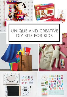 Gift Guide 2015: Unique and Creative DIY Kits for Kids