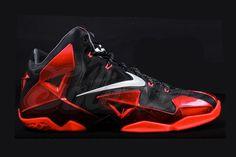 fa6d88ff35c Nike LeBron 11 Miami Heat Away - Le Site de la Sneaker