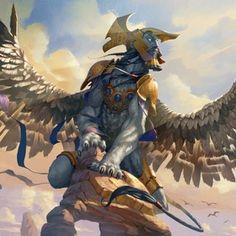 Mythical Creatures Art, Magical Creatures, Fantasy Creatures, Arte Horror, Horror Art, Sphinx Mythology, Greece Mythology, Egyptian Mythology, Fantasy Character Design