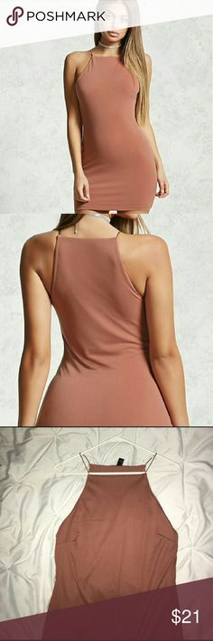 Super cute forever 21 dress Adorable size large square neck line forever 2 dress. Worn 1 time for special even & never worn since. No flaws. If you have any questions please don't hesitate to ask. Offers are welcome. Forever 21 Dresses Mini