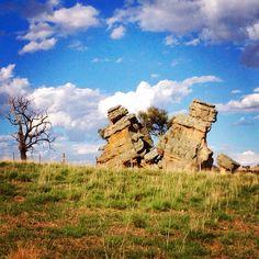Split Rock. Dubbo, NSW