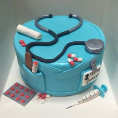 Nurse cake made by Angelique Bond from the Netherlands