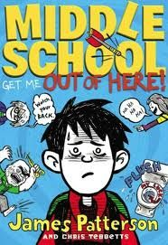 The Hardcover of the Get Me out of Here! (Middle School Series by James Patterson, Chris Tebbetts, Laura Park James Patterson, Middle School Series, Middle School Books, Seventh Grade, Sixth Grade, Grade 3, New Books, Good Books, Fall Books