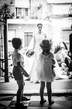 Pajes en una boda en Sevilla