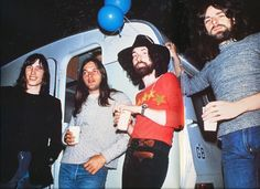 Roger Waters, David Gilmour, Nick Mason, and Richard Wright (1972)