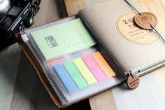 Clear card holder ideas - stickies, pads   Tabiyo Shop - The Photographer