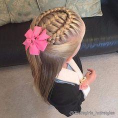 964 Likes, 10 Kommentare - Kleine Mädchen-Frisuren ( zum Insta .