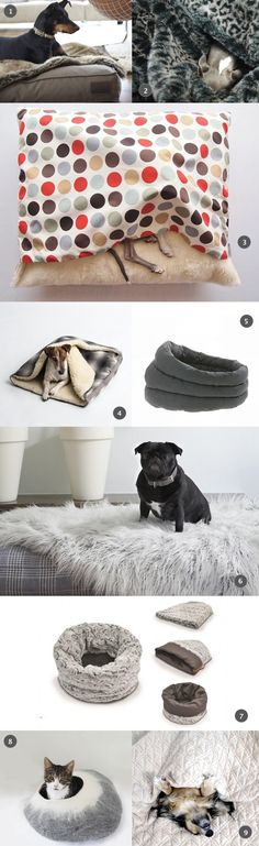SHOP THE TREND | Luxuriously cosy pet snuggle beds and blankets - these will be sure to have them in the land of nod #pets #dogs #cats #catlovers #doglovers #dogbeds #dogblankets #cute #animals #home #design #interiors #catbeds