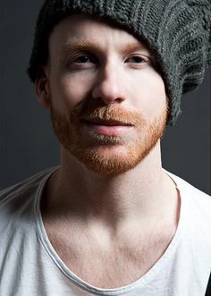 Bearded gingers are my weakness. Add the hat? ...swoon...