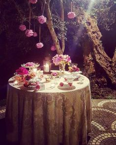 Mise en place, wedding in Italy, design by Andrea Martinez