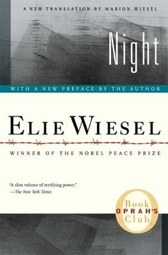 Night  Book Review- Another great holocaust book.