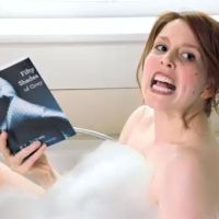 """Dear Harlot Letter: Can Bad Books Ever Become Good Movies?   Photo: Saturday Night Live's Vanessa Bayer explores the """"50 Shades"""" of Mother's Day"""