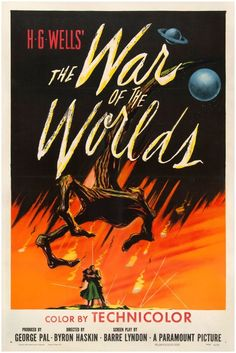 The War of the Worlds (1953) World Movies, Sci Fi Movies, Book Display Shelf, Best Sci Fi, Collage Picture Frames, Chronicles Of Narnia, Paramount Pictures, Period Dramas, War Machine
