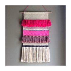 Woven wall hanging Tapestry Wall hanging Weaving Fiber Art Textile Art Home Decor Handwoven Jujujust by jujujust on Etsy https://www.etsy.com/listing/236149812/woven-wall-hanging-tapestry-wall-hanging