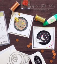 "Tutorial Kullerkarte /Spinner Card with Stampin' Up! ""Himmelsstürmer"" - ""Sliding Star"" | nadinehoessrich.de"