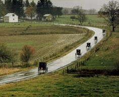 """Amish Sunday Morning"" is one of the award-winning photographs by Jerry Schoenherr"