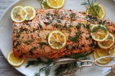 This simple fish dish is best made with wild salmon, but it works equally well with the farmed sort It's astonishingly easy In a hot oven, melt butter in a skillet until it sizzles, add the salmon, flip, remove the skin, then allow to roast a few minutes more