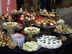Desserts are our specialty! Add a dessert bar to your event! Just ask our catering department for detaiils. Party Trays, Catering Menu, Dessert Bars, Entrees, Buffet, Fresh, Desserts, Food, Party Platters