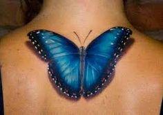 Risultati immagini per 3D butterfly tattoo