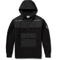 Cav EmptHooded Half-Zip Fleece and Shell Jacket