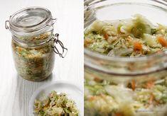 Młoda kapusta – nie ukiszona, a małosolna Preserves, Pickles, Cucumber, Mason Jars, Kitchen, Food, Preserve, Cooking, Eten