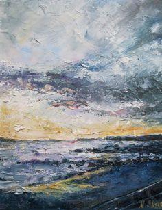 'Salthill Sunset' www.niamhslack.com