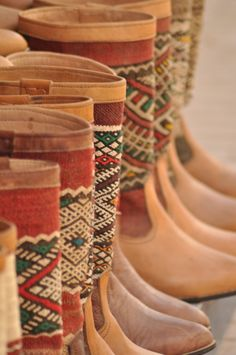 I love these Kilim boho boots