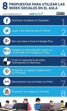 Ocho propuestas para utilizar las redes sociales en el aula. #RRSS @aulaPlaneta | Cambio Educativo | Scoop.it