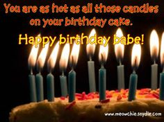 Romantic Birthday Wishes, Messages and Greetings Birthday Wishes for Husband, Wife, Couples, Lovers, Love ones. Also see Funny Brithday Greetings
