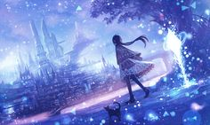 Best pictures of favorite anime wallpaper, ideas about Anime, Cool anime wallpapers. Anime Wallpaper 1920x1080, Anime Backgrounds Wallpapers, Animes Wallpapers, Hd Wallpaper, Dark Anime, Anime Artwork, Fantasy Artwork, Anime Places, Anime Galaxy