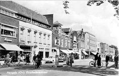 De Enschedesestraat in Hengelo omstreeks 1958