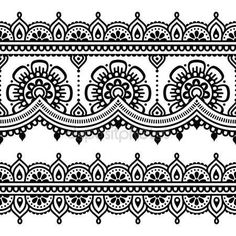 Vector ornament - oriënteren traditionele stijl op wit