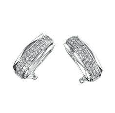 31efb890702f Aretes oro blanco 14k con 52 puntos de diamante Precio en boutique   11