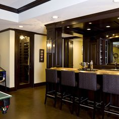 Basement Bar Design Ideas, Pictures, Remodel, and Decor - page 11