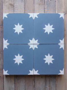 Cement Tiles, Bespoke, Flag, Country, Design, Moroccan Tiles, Warm Paint Colors, Stars, Round Round