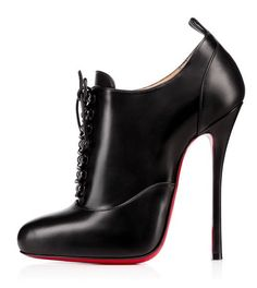 Christian Louboutin high heeled shoe boots Christian Louboutin Merci Allen Vernis, It's been a while since I last found a shoe I liked enough to describe as Shoe Kryptonite,. High Heels Boots, Louboutin High Heels, Black High Heels, Black Ankle Boots, Heeled Boots, Shoe Boots, Shoes Heels, Shoes Sneakers, Super High Heels