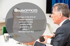 #quoteoftheday #motivation #courage #guarantee #quality #agileoffices
