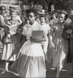 COURAGE---Civil rights movement...We all have come a long way, but still have miles to travel.
