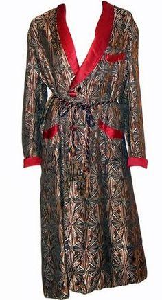 1920's Men's Lounging Robe