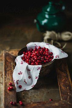 Ccranberries by Tatjana Ristanic   Stocksy United