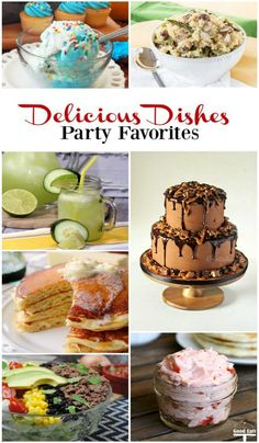 All of our favorites from the Delicious Dishes party! Click to see all of the recipes!