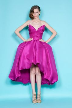 Marchesa Resort 2012 - It looks like an upside down tulip! And the color...oh the color is tres sublime!