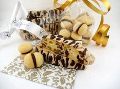 Italian Biscotti and Baci Di Dama (perfect for our Christmas treats)