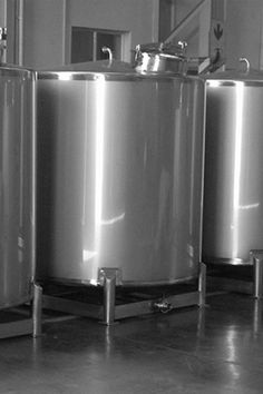STORAGE TANKS: We offer tanks made from various materials and with different add-ons (including stirrers, coils, level indicators, etc).
