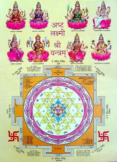 #Lakshmi is the Hindu Goddess of wealth, prosperity (both material and spiritual), fortune, and the embodiment of beauty. She is wife of Vishnu. Also known as Mahalakshmi, she is said to bring good luck and is believed to protect her devotees from all kinds of misery and money-related sorrows.