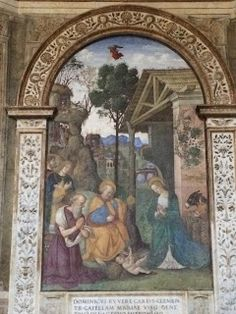 Rome From Home: 12 Cribs of Christmas 1.